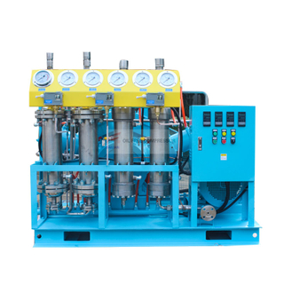 TOTALLY OIL FREE OXYGEN COMPRESSOR GOW-100-4-150