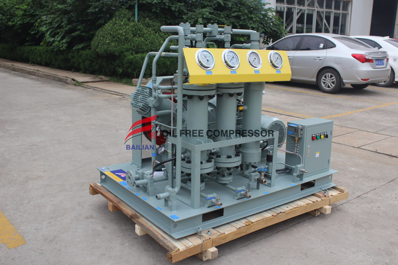 Nitrogen Gas Booster Compressor for Beer Dispensing