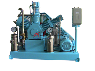 Industrial Tank Reciprocating Oxygen Compressor