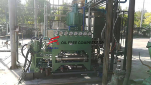 oil free low pressure hydrogen gas reciprocating compressor