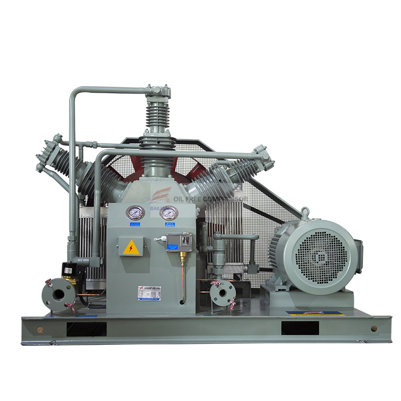 Chemical factory use oil free nitrogen compressor WW-100-6-30