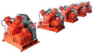 High Pressure Oil Free Sf6 Sulfur Hexafluoride Gas Compressor