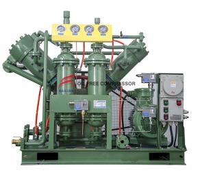 What types of hydrogen compressors are there?