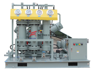 Oil Free High Pressure Nitrogen Booster Compressor for Cylinder Filling