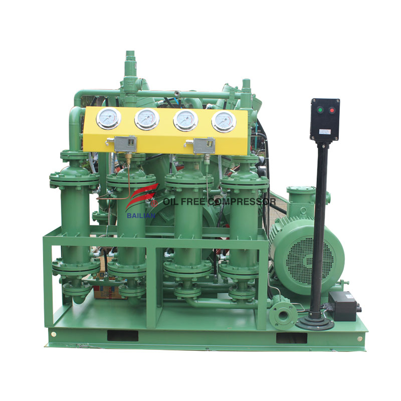 Steel Factory Use Oil Free Hydrogen Compressor