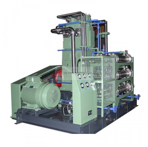 What are the types of co2 compressors?